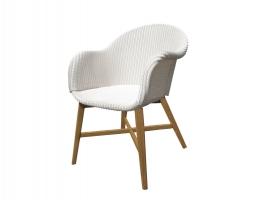 Плетеное кресло Виола CRUZO лум, белый, kv02822