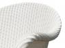 Обідній комплект меблів Віола для дому/тераси (стіл і 4-6 крісел) з тіку та луму білий CRUZO kt201020201