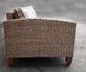 Кутовий плетений диван Скіф CRUZO натуральний ротанг, світло-коричневий, ud08214